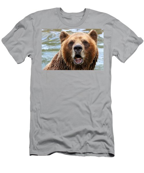 Canadian Grizzly Men's T-Shirt (Athletic Fit)