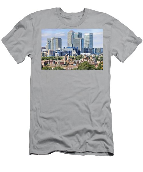 Canary Wharf Men's T-Shirt (Athletic Fit)
