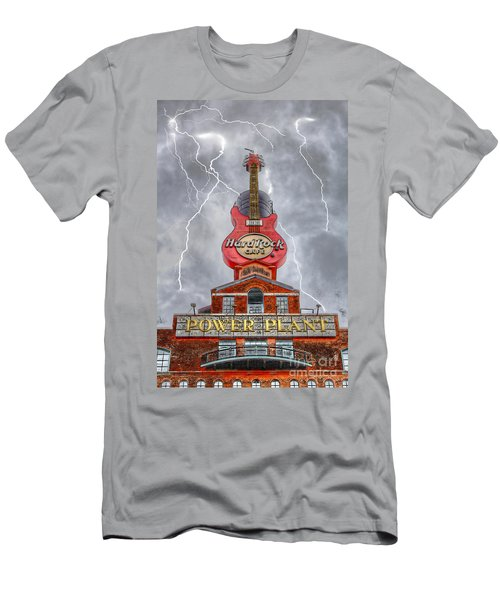 Can't Stop The Rock Men's T-Shirt (Slim Fit) by Dan Stone