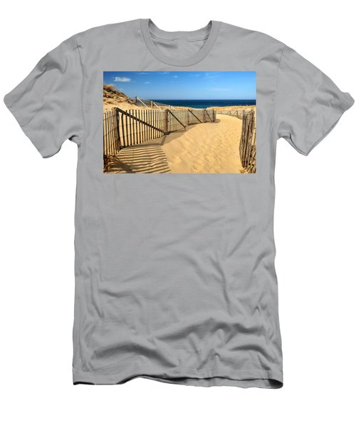 Cape Cod Beach Men's T-Shirt (Athletic Fit)