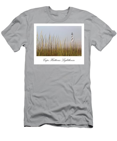 Cape Hatteras Lighthouse In The Fog Men's T-Shirt (Athletic Fit)