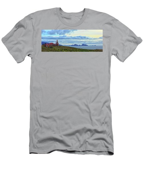 Cape Horn Lighthouse In Cape Horn Men's T-Shirt (Athletic Fit)