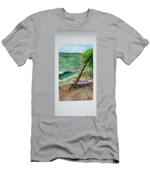 Caribbean Morning II Men's T-Shirt (Athletic Fit)