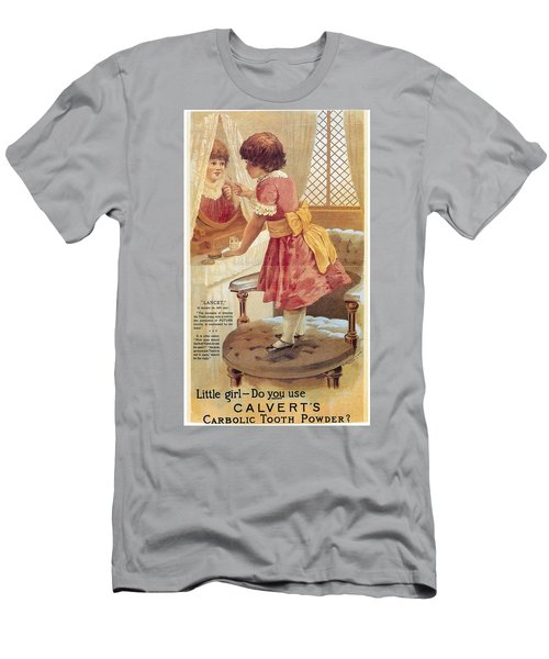Men's T-Shirt (Slim Fit) featuring the photograph Carlvert's Carbolic Tooth Powder Ad by Gianfranco Weiss
