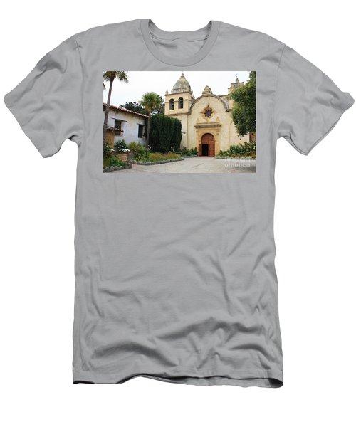 Carmel Mission Church Men's T-Shirt (Athletic Fit)