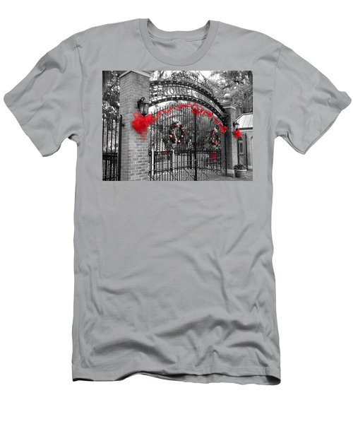 Carousel Gardens - New Orleans City Park Men's T-Shirt (Athletic Fit)
