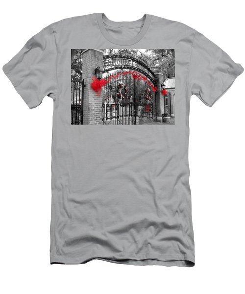Carousel Gardens - New Orleans City Park Men's T-Shirt (Athletic Fit)