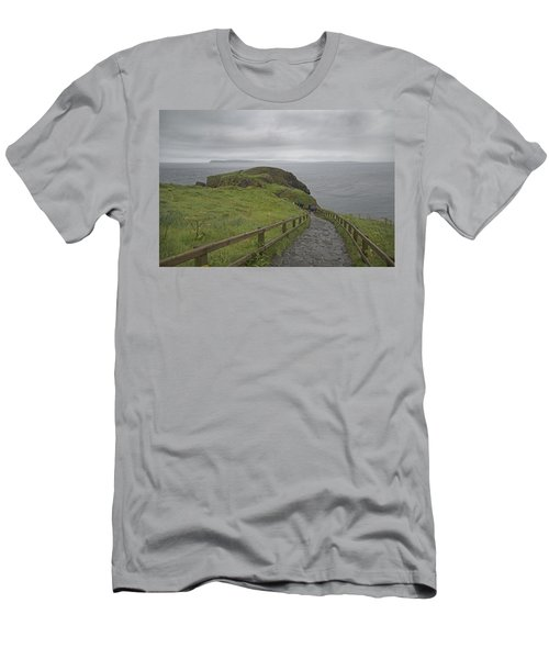 Carrick-a-rede Pathway Ireland Men's T-Shirt (Athletic Fit)