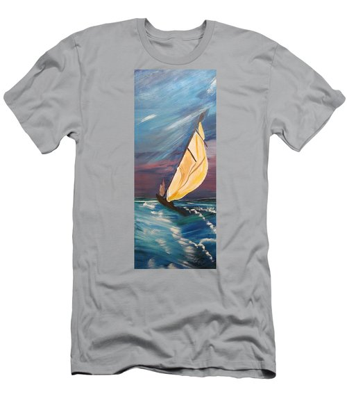 Catching The Wind Men's T-Shirt (Athletic Fit)