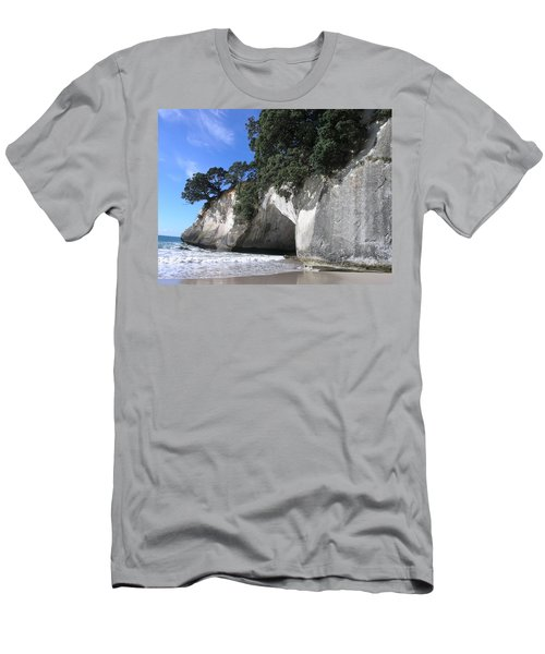 Cathedral Cove Men's T-Shirt (Athletic Fit)