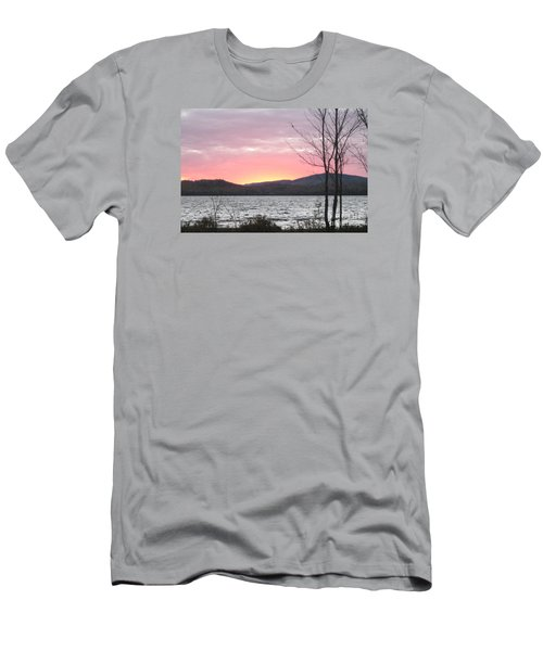 Caucomgomoc Lake Sunset In Maine Men's T-Shirt (Athletic Fit)