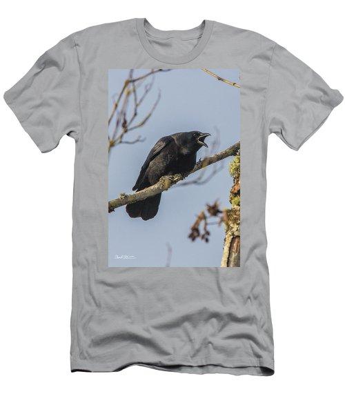 Caw Men's T-Shirt (Athletic Fit)