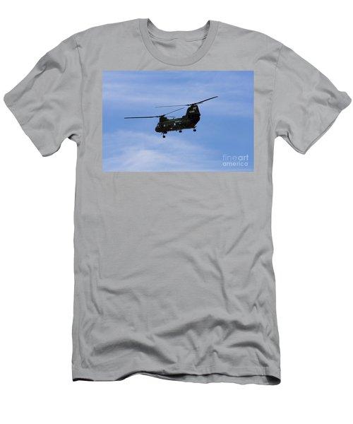 Ch-46 Vietnam Era Paint Men's T-Shirt (Athletic Fit)
