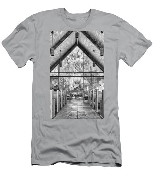 Men's T-Shirt (Athletic Fit) featuring the photograph Chapel by Howard Salmon