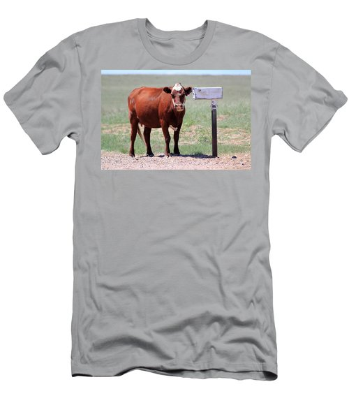 Checking The Mail Men's T-Shirt (Athletic Fit)
