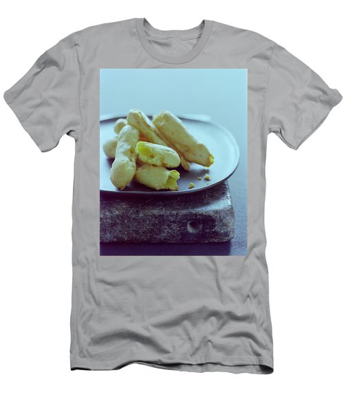 Cheese Puffs Men's T-Shirt (Athletic Fit)