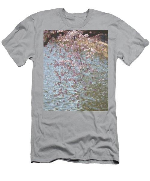 Cherry Blossoms P2 Men's T-Shirt (Athletic Fit)