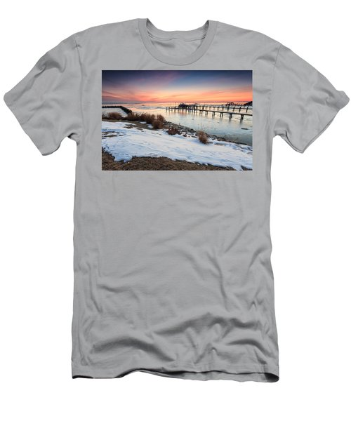 Chesapeake Bay Freeze Men's T-Shirt (Athletic Fit)