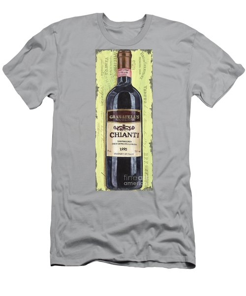 Chianti And Friends Panel 1 Men's T-Shirt (Athletic Fit)