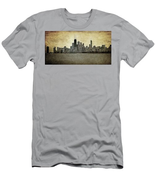 Chicago On Canvas Men's T-Shirt (Athletic Fit)