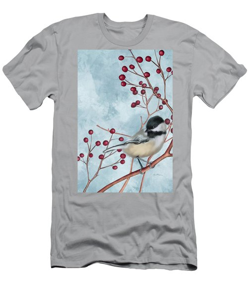 Chickadee I Men's T-Shirt (Athletic Fit)