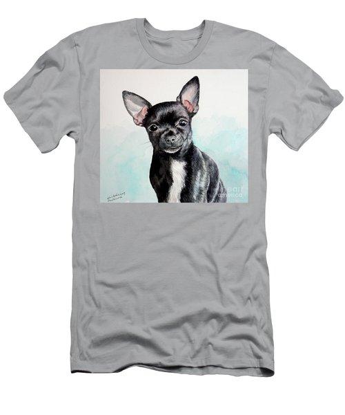 Chihuahua Black Men's T-Shirt (Athletic Fit)