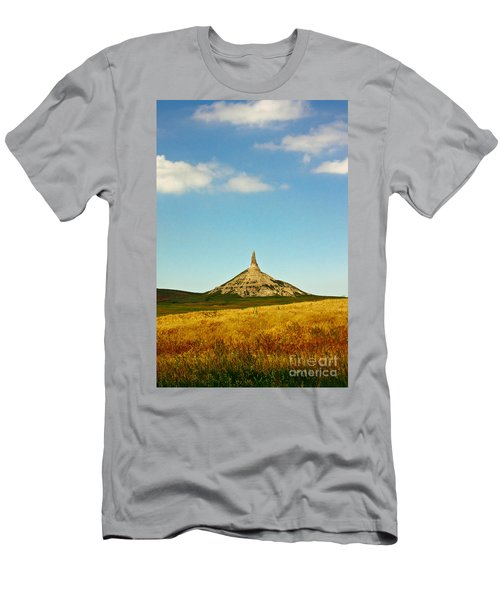 Chimney Rock Nebraska Men's T-Shirt (Athletic Fit)