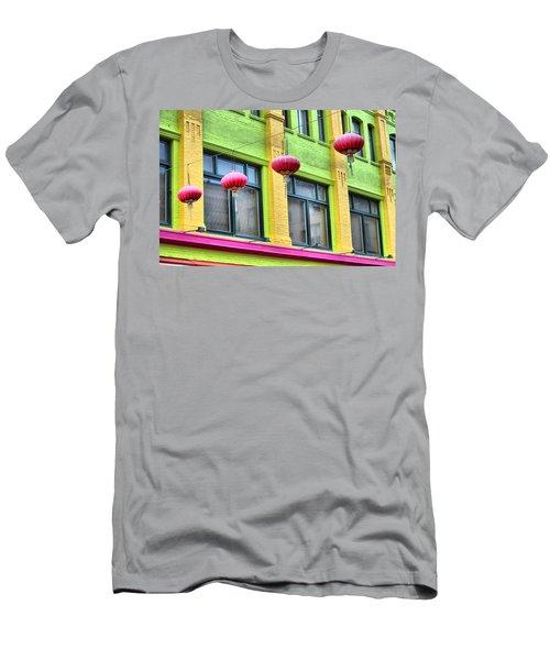 Chinatown Colors Men's T-Shirt (Athletic Fit)