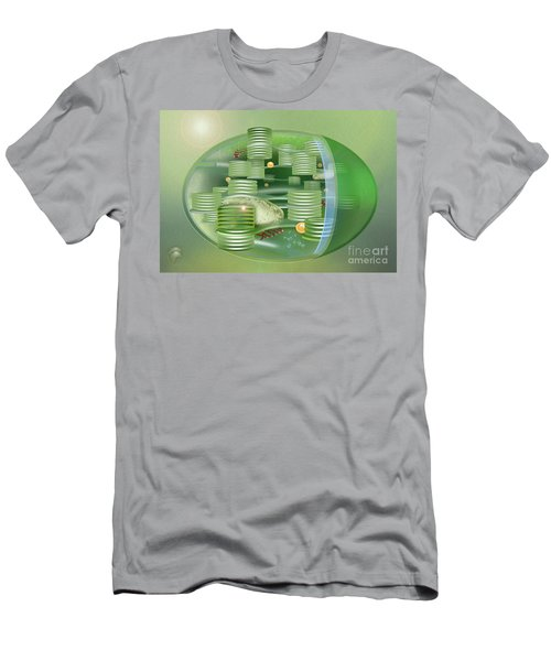 Chloroplast - Basis Of Life - Plant Cell Biology - Chloroplasts Anatomy - Chloroplasts Structure Men's T-Shirt (Athletic Fit)