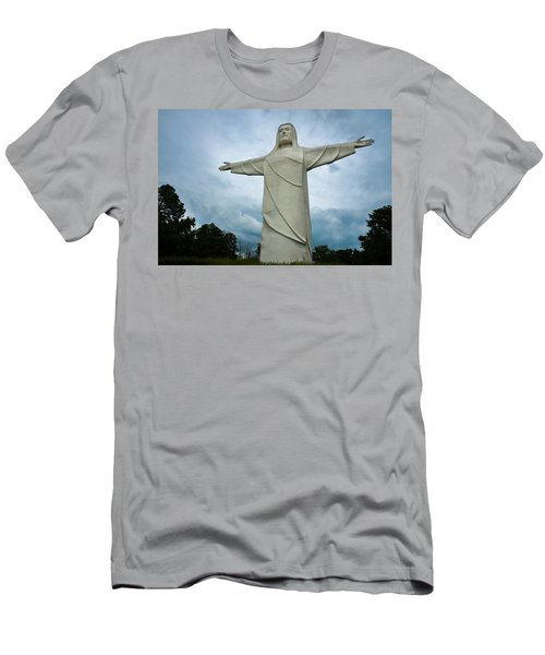 Christ Of The Ozarks Men's T-Shirt (Athletic Fit)