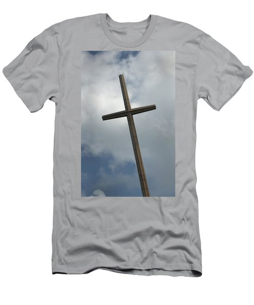 Christian Cross Men's T-Shirt (Athletic Fit)