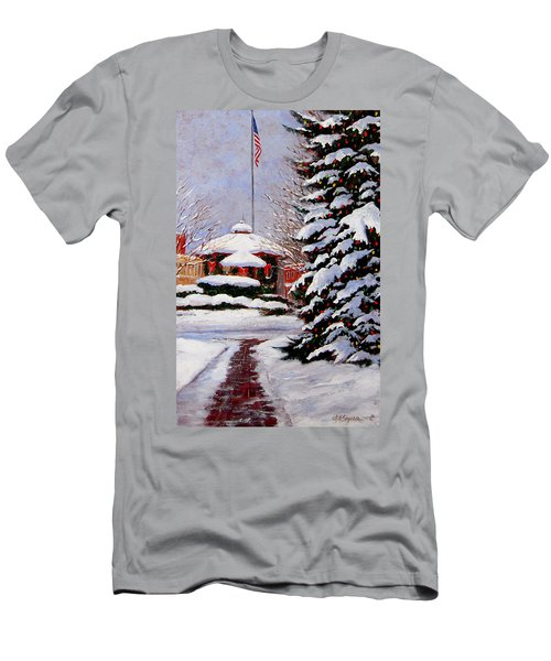 Christmas In Chagrin Falls Men's T-Shirt (Athletic Fit)