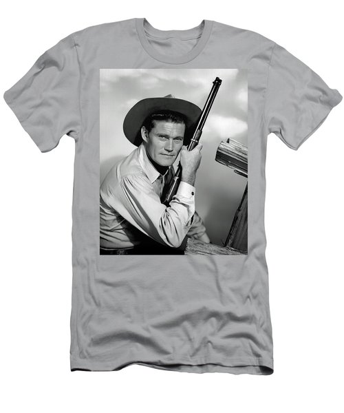 Chuck Connors - The Rifleman Men's T-Shirt (Athletic Fit)