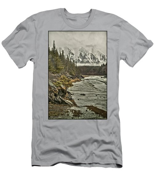 Chugach Range Men's T-Shirt (Athletic Fit)