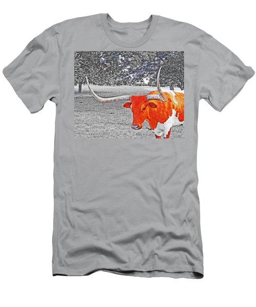 Cibolo Longhorn Men's T-Shirt (Athletic Fit)