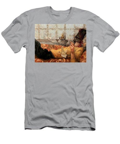 Cicogna Da Passeggio Men's T-Shirt (Athletic Fit)