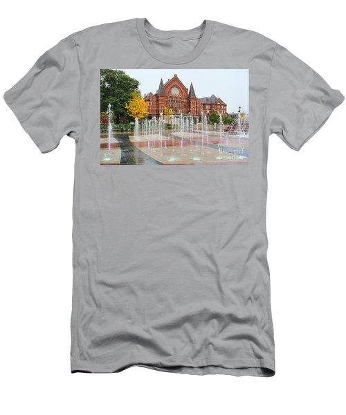 Cincinnati Music Hall 0001 Men's T-Shirt (Athletic Fit)