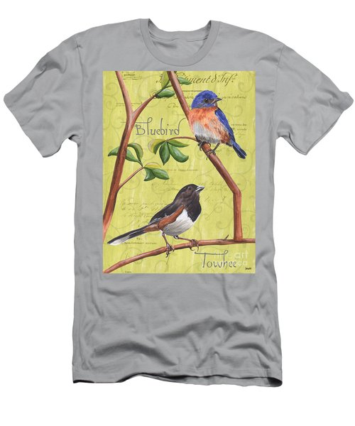Citron Songbirds 1 Men's T-Shirt (Athletic Fit)