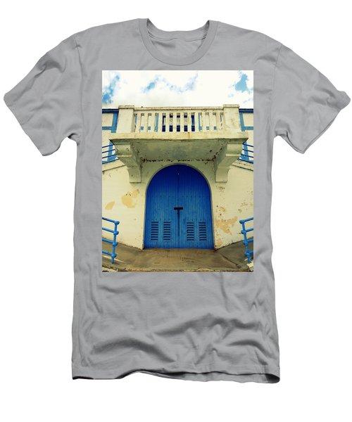 City Island Bath House Men's T-Shirt (Athletic Fit)