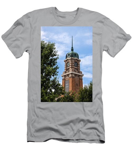 Cleveland West Side Market Tower Men's T-Shirt (Athletic Fit)