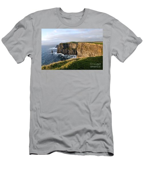 Cliffs Of Moher Evening Light Men's T-Shirt (Athletic Fit)