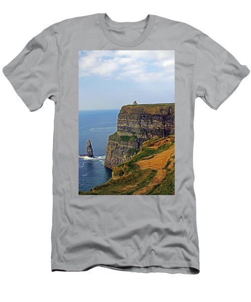 Cliffside Steeple Men's T-Shirt (Athletic Fit)