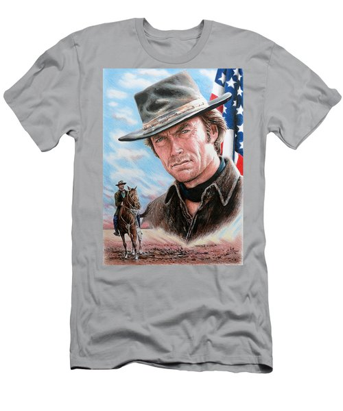 Clint Eastwood American Legend Men's T-Shirt (Athletic Fit)