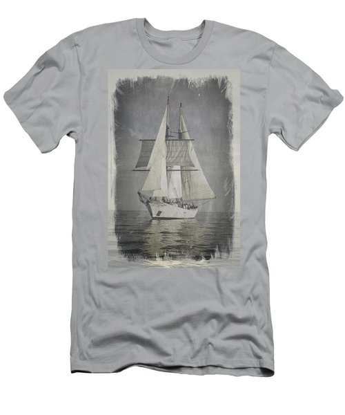 Clipper Under Sail Men's T-Shirt (Athletic Fit)