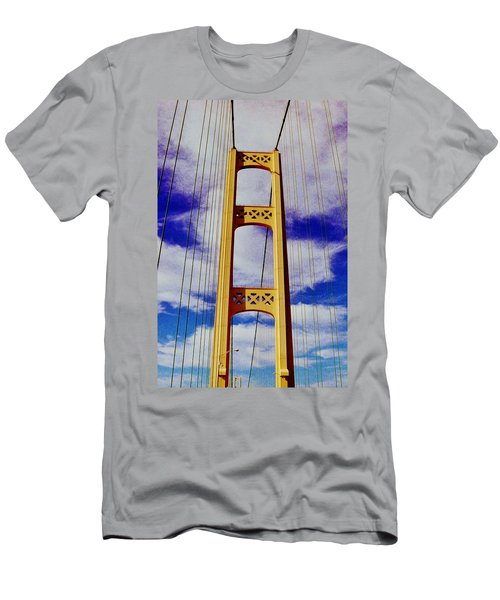 Men's T-Shirt (Slim Fit) featuring the photograph Clouds by Daniel Thompson