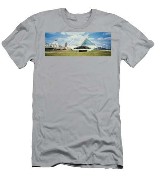 Clouds Over An Art Museum, Milwaukee Men's T-Shirt (Athletic Fit)