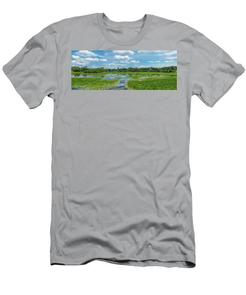 Clouds Over South Park Lake, South Men's T-Shirt (Athletic Fit)