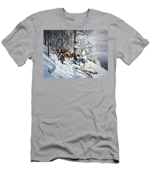 Clymer Lewis And Clark Men's T-Shirt (Athletic Fit)