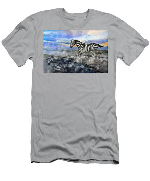 Coastal Stripes I Men's T-Shirt (Athletic Fit)