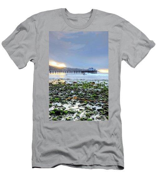 Cobblestone Sunrise At The Bu Men's T-Shirt (Athletic Fit)